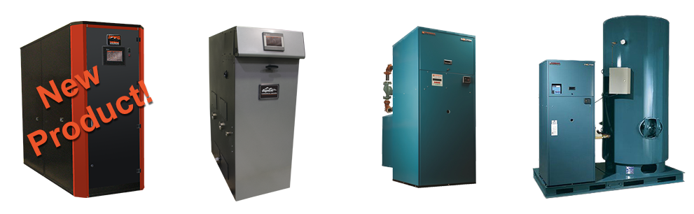 line of Evolution water heaters & boilers